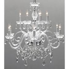Light Crystal Chandelier Empire Victorian Chandelier With Swarovski Crystal H25
