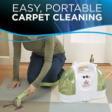 amazon com bissell little green proheat portable carpet and