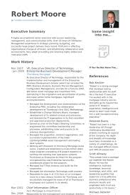 great business manager resume
