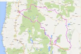 map of oregon nevada basin and range suburban permaculture