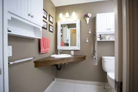 bathroom accessible university thinking innovatively about bathroom layout can increase floor space like this corner sink