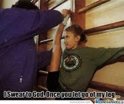 Angry Girl Meme - angry gymnast girl by da internet meme center