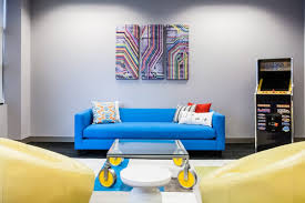 Best Gaming Rooms - best gaming room home office contemporary with abstract artwork