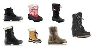 warm womens boots canada 25 boots for the whole family sorel canada