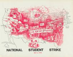 Framingham State Campus Map by National Student Strike May 6 1970 Cornell University Library
