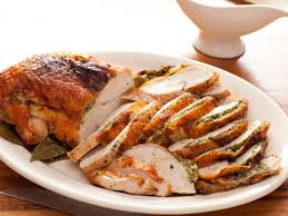 herb roasted turkey breast with pan gravy recipe rachael