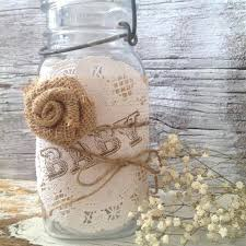 shabby chic baby shower decorations vintage baby shower decor for 5 jars shabby chic baby shower