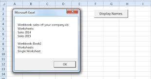 loop through books and sheets in excel vba easy excel macros