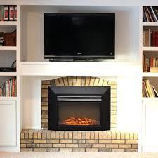 Muskoka Electric Fireplace 28 Inch Electric Fireplace Insert Infrared Quartz Electric