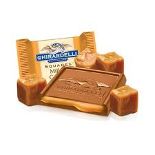 ghirardelli gift baskets austinuts ghirardelli milk chocolate square w caramel filling
