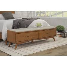 Modern Storage Bench Mid Century Modern Storage Benches You Ll Wayfair