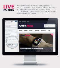 geekmag magazine news blog wordpress theme by egemenerd