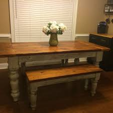 8 Foot Sofa Table Buy A Custom 8 Foot Antique Heart Pine Farmhouse Table Made To
