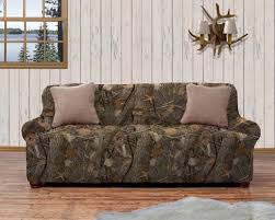 Kings Camo Woodland Shadow Strapless Slipcover Home Fashion Designs - Kings sofa