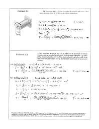 mechanics of materials 5th edition ch 3 solutions documents