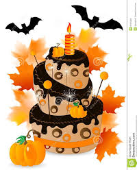 halloween birthday cake clipart clipartxtras