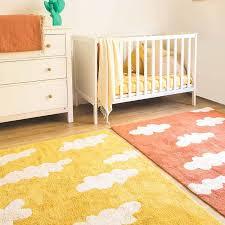 grand tapis chambre enfant tapis enfant nuages