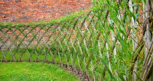 pergola willow fencing admirable willow fence panels u201a imposing