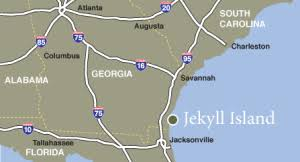 jekyll island map haunted hotels