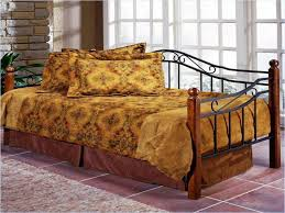 Wood Daybed With Pop Up Trundle Black Metal Daybed With Pop Up Trundle Best Home Designs Metal