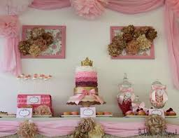 pink and gold princess birthday party centerpieces siudy net