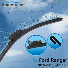 ford ranger wiper blades 2pcs wiper blades 2pcs rubbers for ford ranger 2010 2015 24