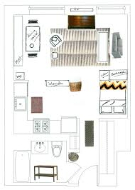 Studio Apartment Floor Plan by Studio Apartment Floor Plans Beautiful Creative Small Studio