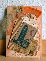free greeting card craft vintage pisa card