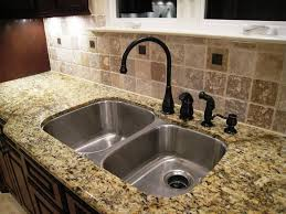 granite countertop hanging cabinets in kitchen mosaic tile