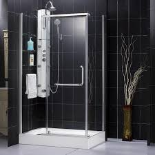 4 Shower Door 30 Inch Shower Stall Enclosures Shower Enclosure Panorama 30 7