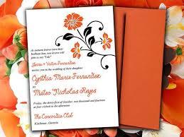 wedding invitations kitchener orange and black wedding invitations 613