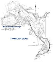 Lake Maps Mn Thunder Lake Cass County Lake Located Near Longville Mn