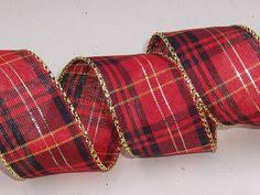 and black plaid ribbon christmas plaid ribbon wired edge 2 1 2 wide from cottage