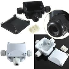 outdoor flood light junction box 1pc waterproof junction box 3 port protection building connectors