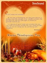 thanksgiving message to clients special day celebrations