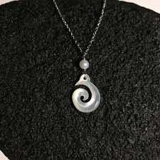 black shell necklace images Mother of pearl shell jewelry abby 39 s crafts JPG