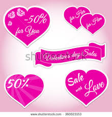 valentines sales valentines day sale offer banner template stock vector 542426452