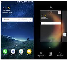apk laucher and install samsung galaxy s8 launcher apk on your own