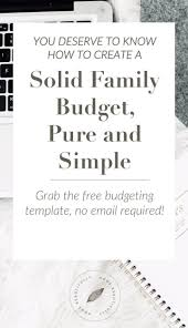 Free Household Budget Spreadsheet Best 25 Home Budget Template Ideas On Pinterest Home Budget
