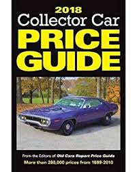 cars with price 2016 collector car price guide cars report price guide