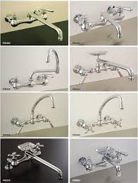 wall mounted kitchen sink faucets 8 vintage style wall mount kitchen faucets retro renovation