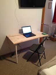 Fold Out Desk Diy Diy Friday 6 Fantastic Space Saving Fold Desks Home