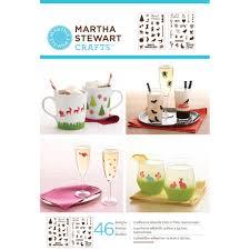 Martha Stewart Pre Lit Christmas Tree Manual by Martha Stewart Crafts Holiday Icons Ii Adhesive Stencils