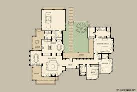 courtyard home plans hacienda style house plans with courtyard home surripui