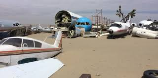 car junkyard victorville abandoned u0026 little known airfields california southern palmdale area