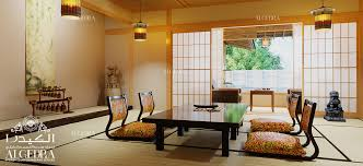Japanese Style In Interior Design By ALGEDRA - Interior design japanese style