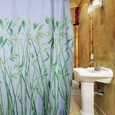 Bamboo Print Shower Curtain Bamboo Print Shower Curtain U2014 Roniyoung Decors The Most Natural