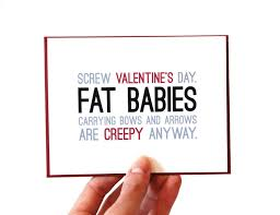 sarcastic valentines day cards 36 cheeky anti s day cards you ll if you