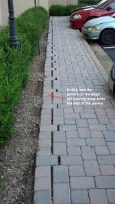 How To Install Pavers For A Patio Choosing And Installing The Right Paver Edging Paver Restraint