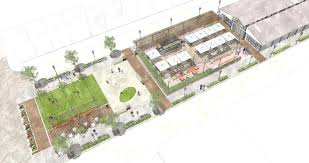 Amphitheater Floor Plan by Proposed Broadway Market Overhaul Calls For Restaurant Seafood